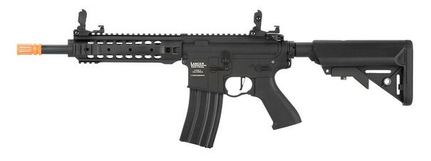 Lancer Tactical LT-24 M4 CQB ProLine Series Low FPS AEG Airsoft Rifle, Black