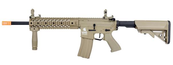 Lancer Tactical EVO M4 Gen 2 Hybrid High FPS AEG Airsoft Rifle, Tan