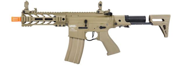 Lancer Tactical ProLine Series BATTLE HAWK PDW Low FPS AEG Airsoft Rifle, Tan