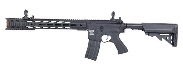 Lancer Tactical Interceptor SPR ProLine Series High FPS AEG Airsoft Rifle, Black