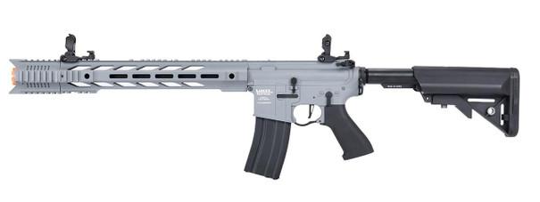 Lancer Tactical Interceptor SPR ProLine Series High FPS AEG Airsoft Rifle, Gray