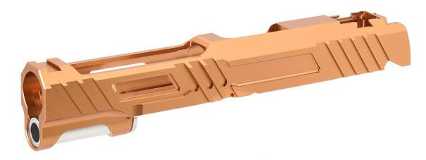 Airsoft Masterpiece Hi-Capa 5.1 / 1911 Custom HAWK Standard Slide, Orange