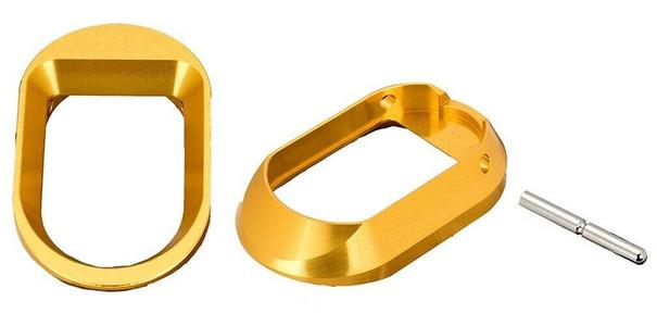 Airsoft Masterpiece Hi-Capa Standard Magwell, Gold