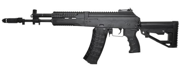 LCT Airsoft LCK12 Tactical AK-12 Assault AEG Airsoft Rifle, Black