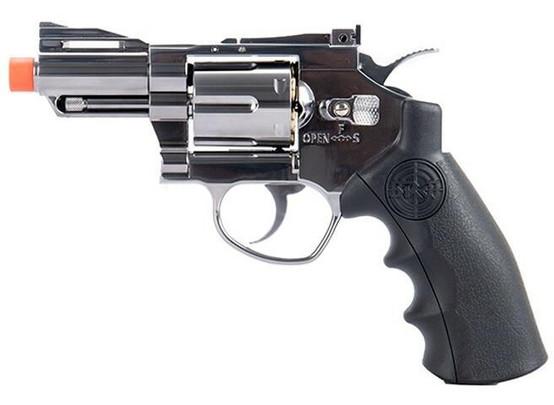 SRC Titan 2.5 Full Metal Co2 Airsoft Revolver, Silver