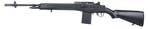 AGM M14 SOCOM DMR AEG Airsoft Rifle w/ Battery and Charger, Black