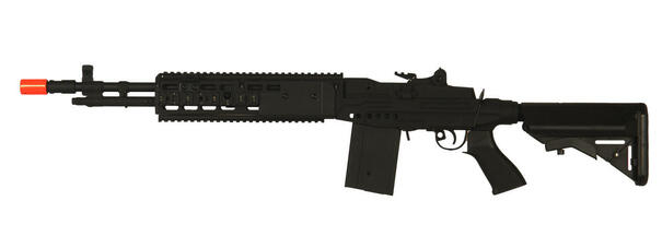 CYMA M14 EBR RIS Crane Stock Full Metal Black Airsoft Rifle
