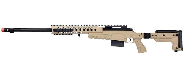 WellFire MB4418-3 Bolt Action Airsoft Sniper Rifle, Tan