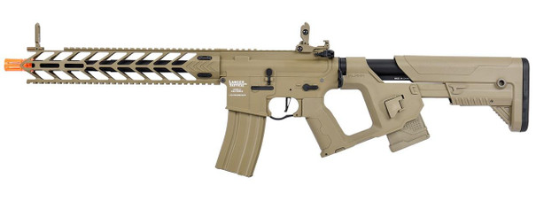 Lancer Tactical Enforcer Series NIGHT WING High FPS AEG Airsoft Rifle w/ Alpha Stock, Tan