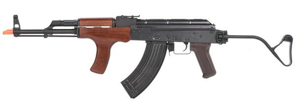 EandL Airsoft AK AIMS Platinum Airsoft Rifle w/ Wood Furniture, Black
