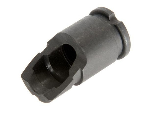 CYMA Metal AK-47 Style Black Flash HIder, 14mm CCW Threaded