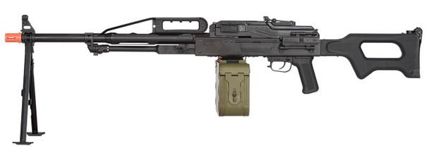 LCT PKP LMG Airsoft Rifle, Black
