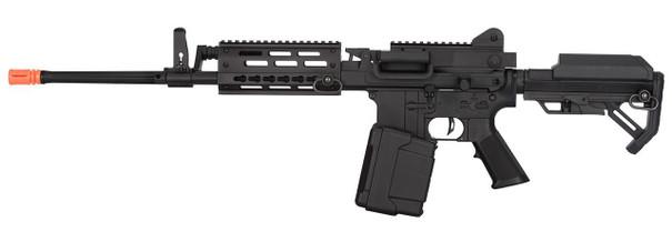 Golden Eagle MCR Long Barrel LMG Airsoft Rifle, Black