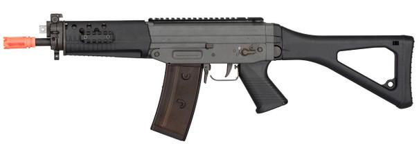 GHK SG553 Gas Blowback Airsoft Rifle, Black