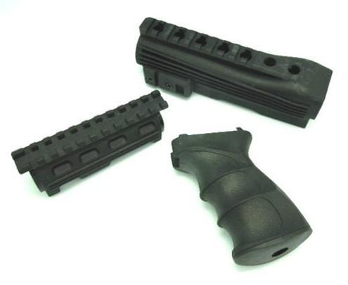 CYMA Nylon Tactical AK47 Pistol Grip and Foregrip Conversion Kit