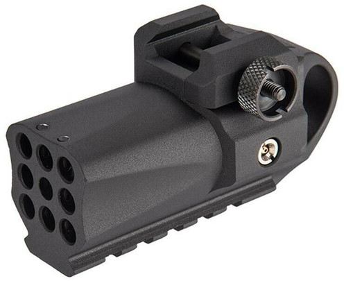 HFC Compact Rail Mounted BB Launcher, Black