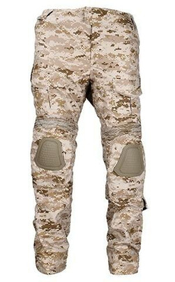 Lancer Tactical Combat Uniform BDU Pants, Digital Desert