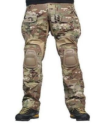 Emerson Gear Combat BDU Advanced Version Tactical Pants w/ Knee Pads, Multicam