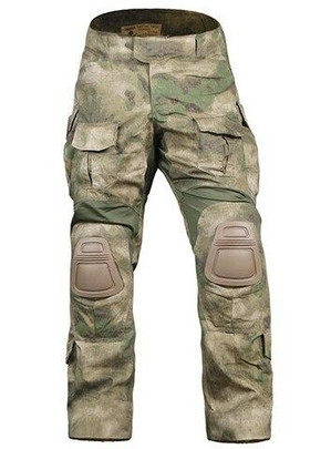 Emerson Gear Combat BDU Advanced Version Tactical Pants w/ Knee Pads, AT Foliage