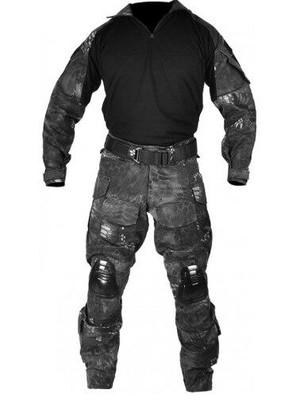 Jagun Tactical Airsoft Combat Uniform BDU Pants and Shirt Set, TYP Camo