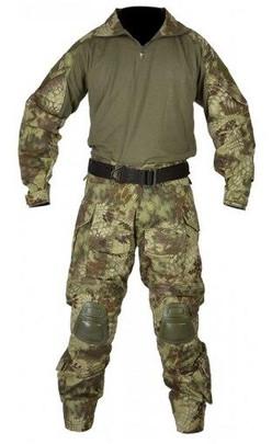 Jagun Tactical Airsoft Combat Uniform BDU Pants and Shirt Set, MDK Camo