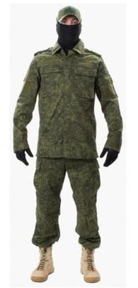 Jagun Tactical Airsoft Battle Dress Uniform BDU Set, Digital Flora