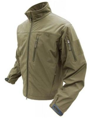 Condor Outdoor Tactical Phantom Soft Shell Jacket #606, Tan