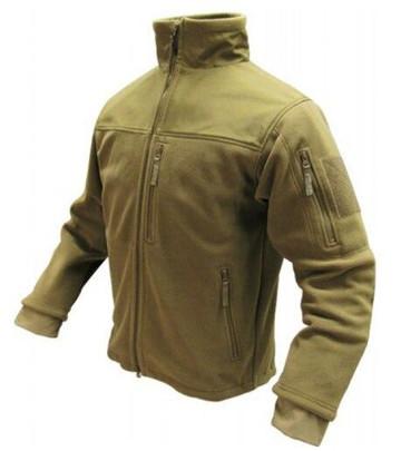 Condor Outdoor Tactical Alpha Micro Fleece Jacket #601, Tan