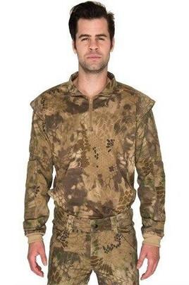 Lancer Tactical Shoulder Armor Jersey, HLD Camo