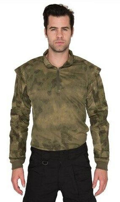 Lancer Tactical Shoulder Armor Jersey, Foliage Green