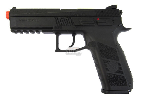 CZ P-09 Gas Blowback Airsoft Pistol w/ Metal Slide by ASG and KJW