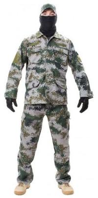 Jagun Tactical Airsoft Battle Dress Uniform BDU Set, PLA Type 07