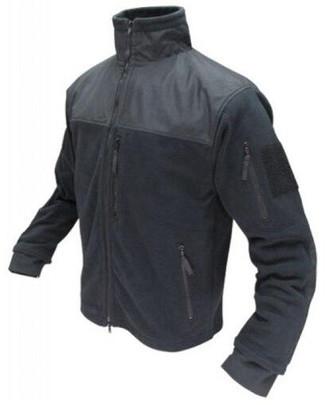 Condor Outdoor Tactical Alpha Micro Fleece Jacket #601, Black