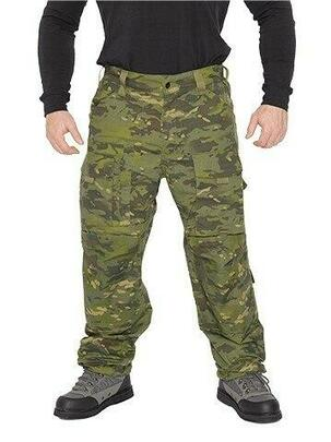 Lancer Tactical All-Weather Tactical Pants, Camo Tropic