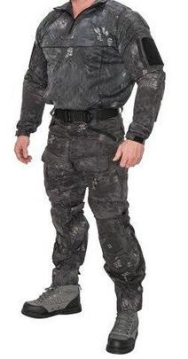 Lancer Tactical Rugged Combat Uniform Set w/ Soft Shell Padding, TYP