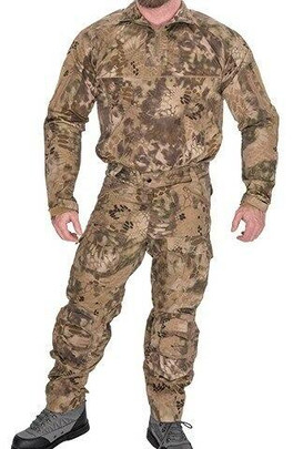 Lancer Tactical Rugged Combat Uniform Set w/ Soft Shell Padding, HLD