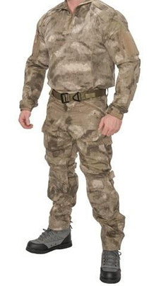 Lancer Tactical Rugged Combat Uniform Set w/ Soft Shell Padding, AT-AU