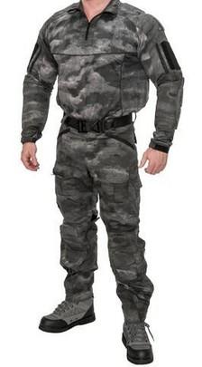 Lancer Tactical Rugged Combat Uniform Set w/ Soft Shell Padding, AT-SE