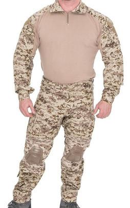 Lancer Tactical Combat Tactical Uniform Set, Desert Digital
