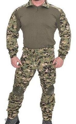 Lancer Tactical Combat Tactical Uniform Set, Woodland Digital