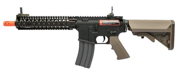 VFC Avalon MK18 Carbine Airsoft Rifle, Black / Tan