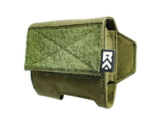 ExFog Tactical Helmet Pouch 1.0 XHP, OD Green