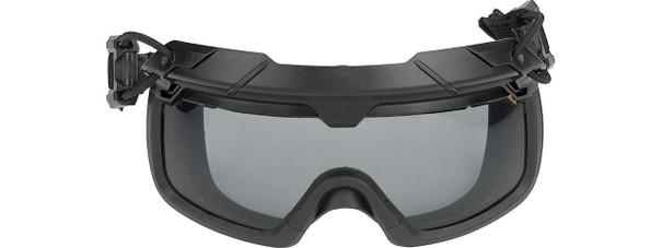Lancer Tactical Helmet Safety Goggles w/ Smoke Lens