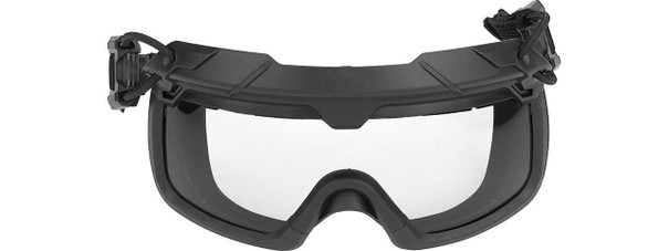 Lancer Tactical Helmet Safety Goggles w/ Clear Lens