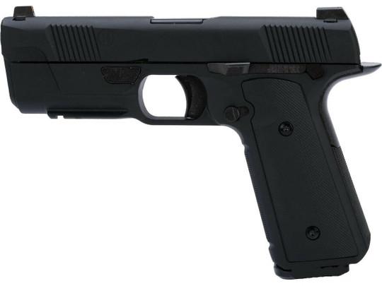 EMG Hudson Licensed H9 Gas Blowback Airsoft Parallel Training Weapon, Black