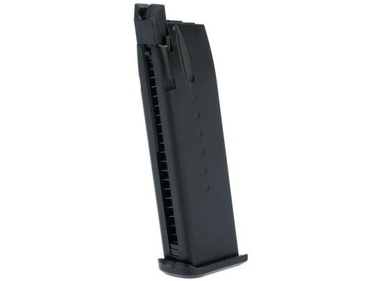 EMG Hudson H9 Parallel Training Pistol 25rd Gas Airsoft Magazine, Black