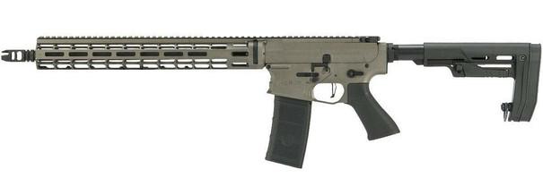 EMG Falkor AR-15 RECCE SBR M4 Training Weapon AEG Airsoft Rifle, Falkor Grey