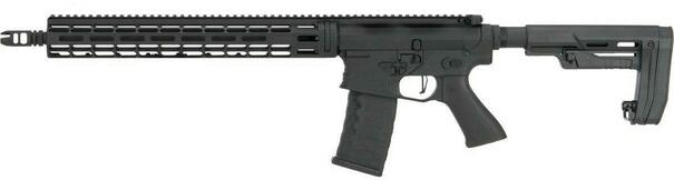 EMG Falkor AR-15 RECCE SBR M4 Training Weapon AEG Airsoft Rifle, Blackout