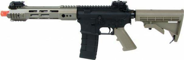 KJW M4 V3 Full Metal Gas Blowback Airsoft Rifle, Two-Tone