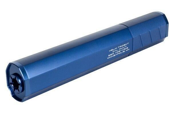 Helix Trident Mock Airsoft Suppressor, Cobalt CW or CCW